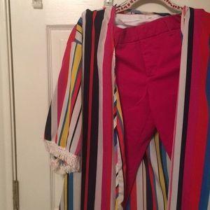 2 piece Set Pants and Long Vest